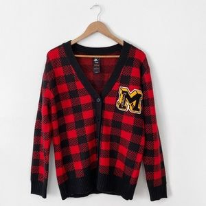 forever 21 x mickey mouse • varsity style cardigan